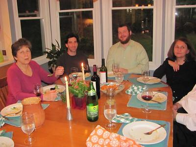 Tom's Birthday Dinner