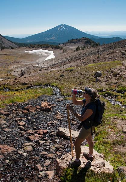 Broken Top Glacial Lake Hike - 2014.09.20