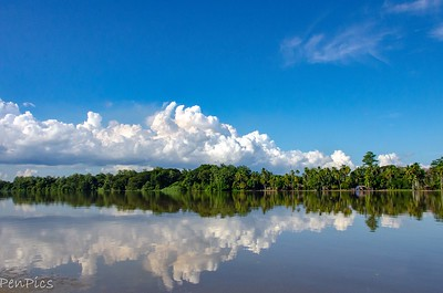 On The Sepik River ~Scenic Waterways and Villages