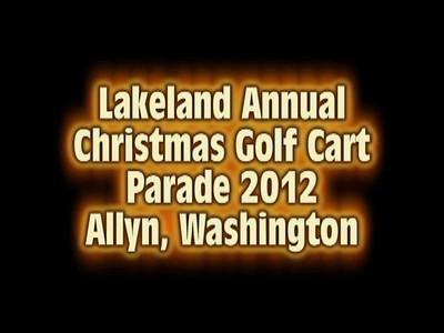 ChristmasGolfCart Parade Video