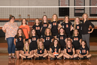 2018 RMS Volleyball