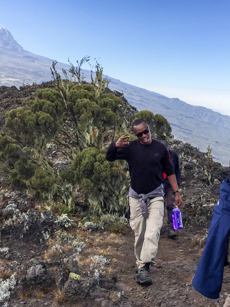 Halifa.  He lead Paula to the summit.