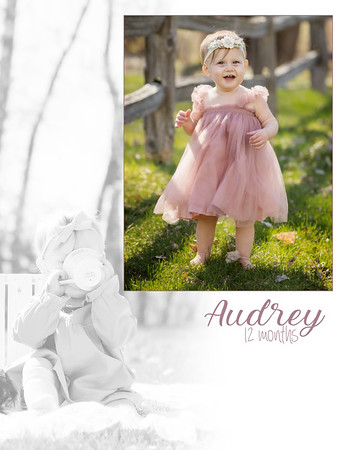 Audrey 12 Months