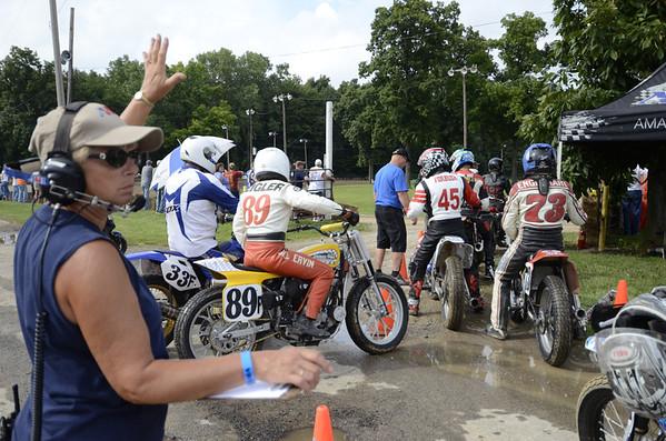 2013 AMA Vintage Grand Championships: Dirt Track