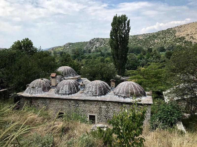 hamam (bathhouse) in the Ottoman period village of Počitelj