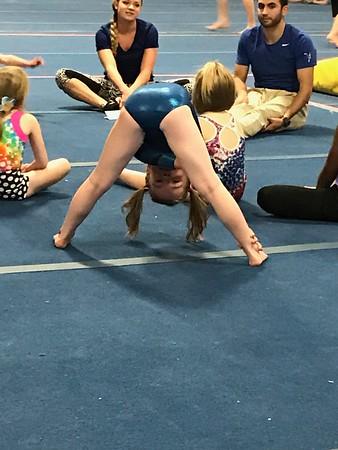 Gymnastics goofiness
