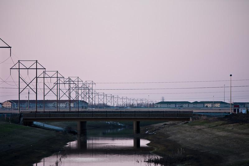 Bridge over no longer troubled water