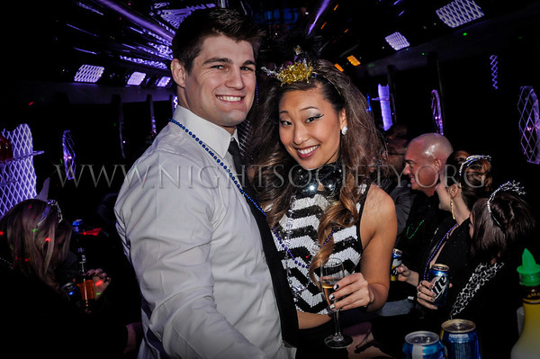 Night Society Nightlife Express Partybus NYE 12-31-2013