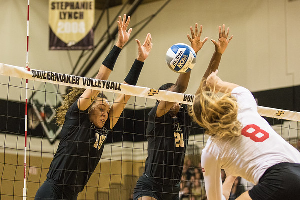 Purdue Volleyball vs IU 2015-10-10