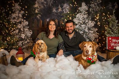 Sasha & Mike Powless Christmas Mini 2019