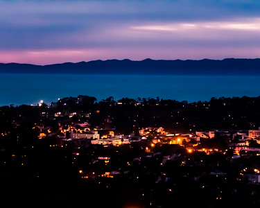 Santa Barbara from the mountains