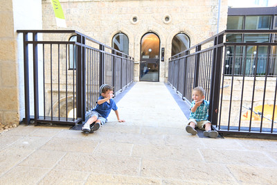 Kids in Mamilla and Light Show