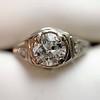 .67ctw Old European Cut Diamond Solitaire  8