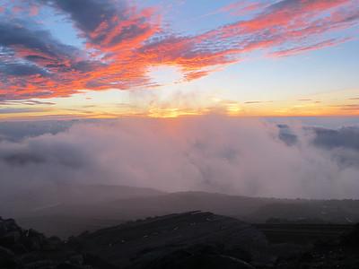 Mount Washington Sunrise July 28, 2013