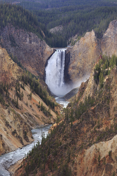 Lower Falls of the Yellowstone 002