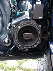 2006 Toyota 4Runner Limited  With JBL OEM System  Rear Speaker Installation - USA