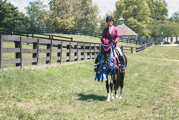 Ryann at National Dressage Pony Cup 2017