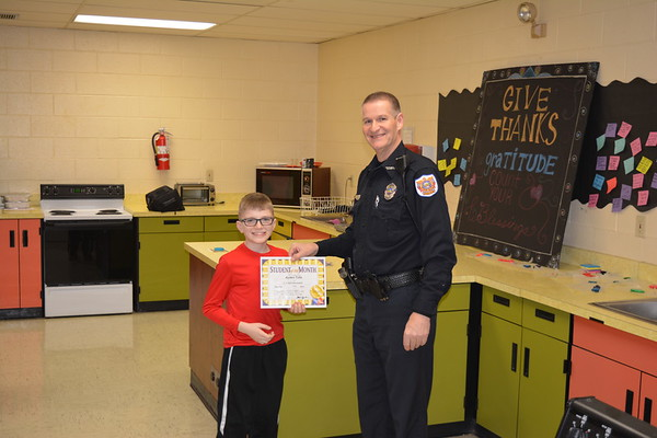 LT January Student of the Month Breakfast