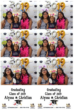 Alyssa & Christian's Grad Party