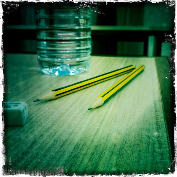 Pencil sharpened - thesis presentation