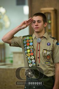 Adam Eagle Scout Ceremony