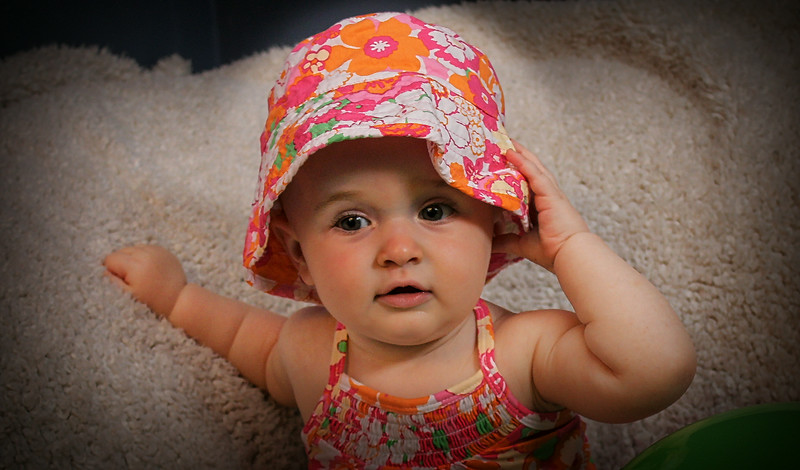 Baby Girl; 10 Month Old Session