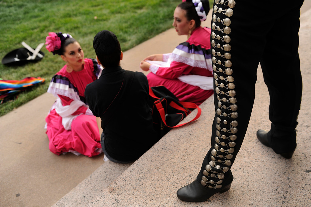 . Denver celebrated Mexico Night in Civic Center Park Thursday night, July 18, 2013.     Photo By Karl Gehring/The Denver Post