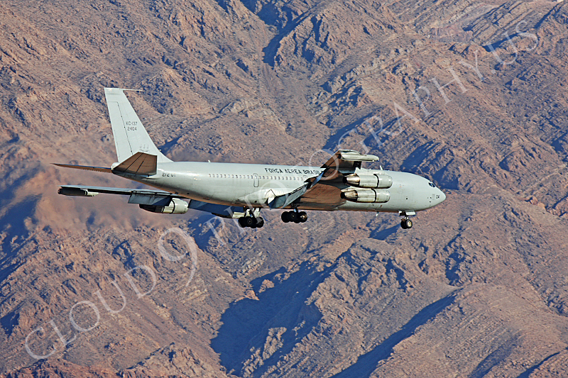 KC-137FORG 00018 Boeing KC-137 Stratotanker Brazilian Air Force Nellis AFB by Peter J Mancus.JPG