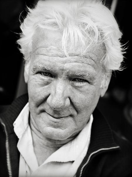 Cafe Man - Edinburgh - Street Portrait
