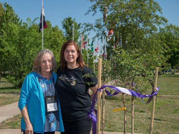 Inge Elizabeth Wilson Tree Dedication (Ron O)