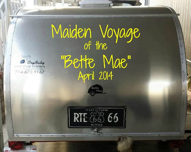 "Maiden Voyage of the ""Bette Mae"""