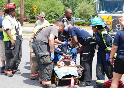 5/15/2010 Man on Bike hit Car at Wal-Mart
