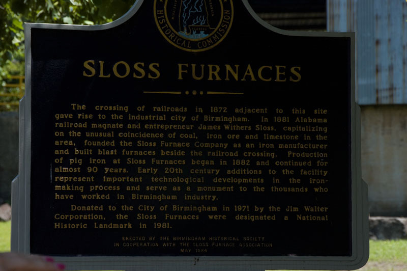 Susannah kept telling us that we would realy enjoy a trip to see Sloss.  It was hard for me to visualize