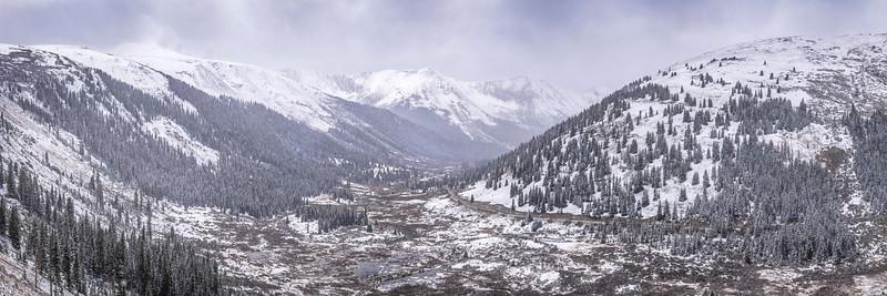 Independence Pass Pano, Colorado