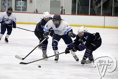 Girls' Ice Hockey vs MVRHS 🏒 2019
