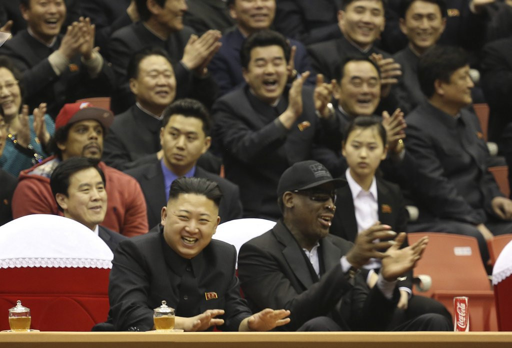 ". <p>18. DENNIS RODMAN <p>Doomed basketball adviser coming soon to a North Korean purge near you. <p><b><a href=\'http://www.foxnews.com/world/2013/12/17/worm-returns-dennis-rodman-due-back-in-north-korea-despite-turmoil/\' target=""_blank\""> HUH?</a></b> <p>    (AP Photo/VICE Media, Jason Mojica, File)"