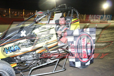 6/11/17 - Dirt - POWRi Outlaw Midget Series