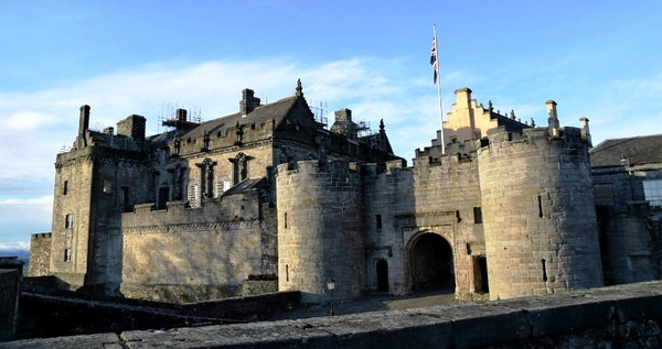 View of the Stirling castle