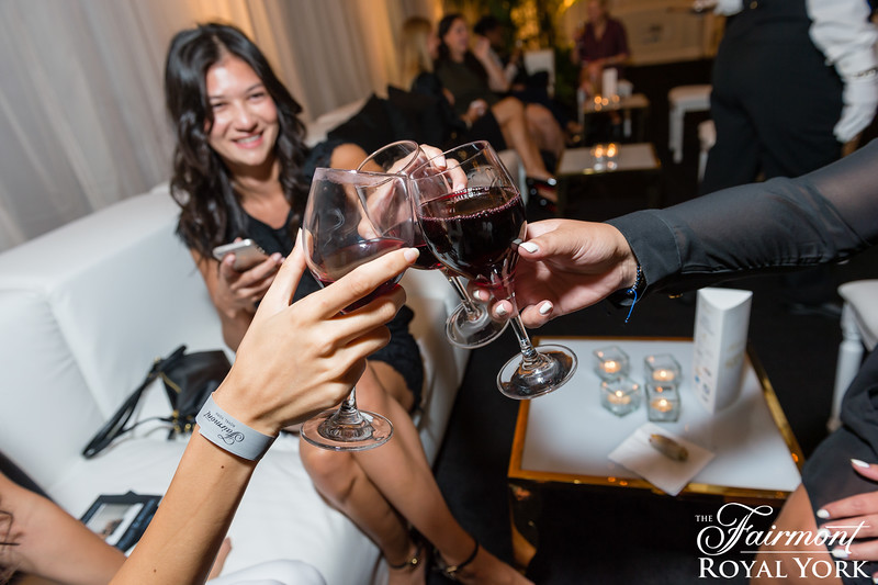 ChampagnePARTY - Presented by Fairmont Royal York & #TWIFF | @FairmontRYH #ChampagnePARTY | Photo by // Photagonist.ca