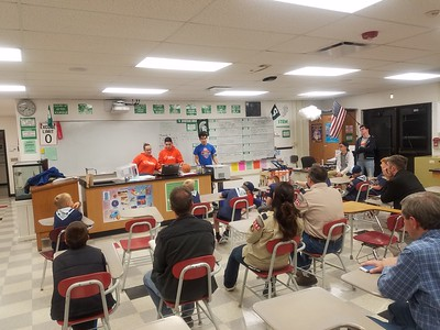 2017 Cub Scout Meeting