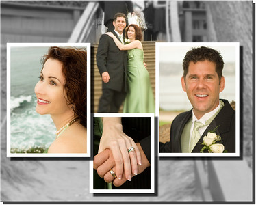 Dave & Michelle - A Few Wedding Album Pages