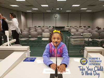 COH PD Take Your Daughters to Work Day