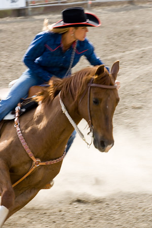 2007 Barrel Racing