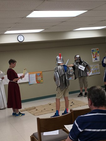 Mrs. Anderson's Gr. 6 Play Moses & David