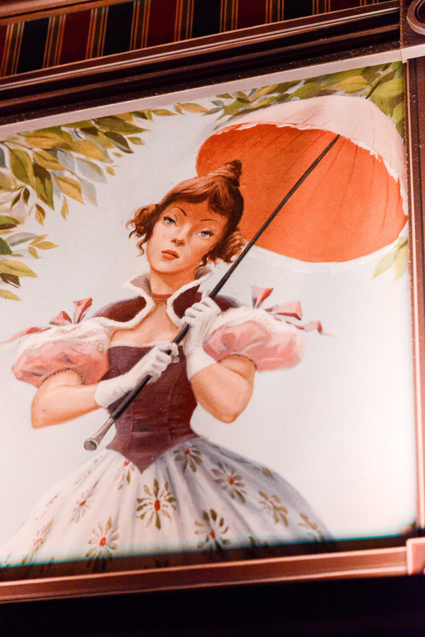 Haunted Mansion Parasol Girl - Walt Disney World Magic Kingdom