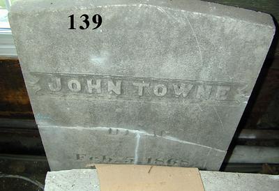Headstones at the Jaffrey Mills