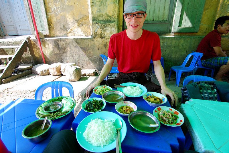 Dustin eating in Yangon Myanmar.jpg