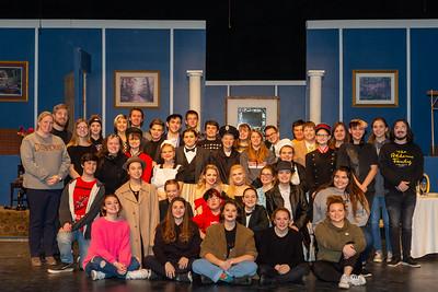 "High School Theatre - 11/20/2019 ""Clue"" Dress Rehearsal"