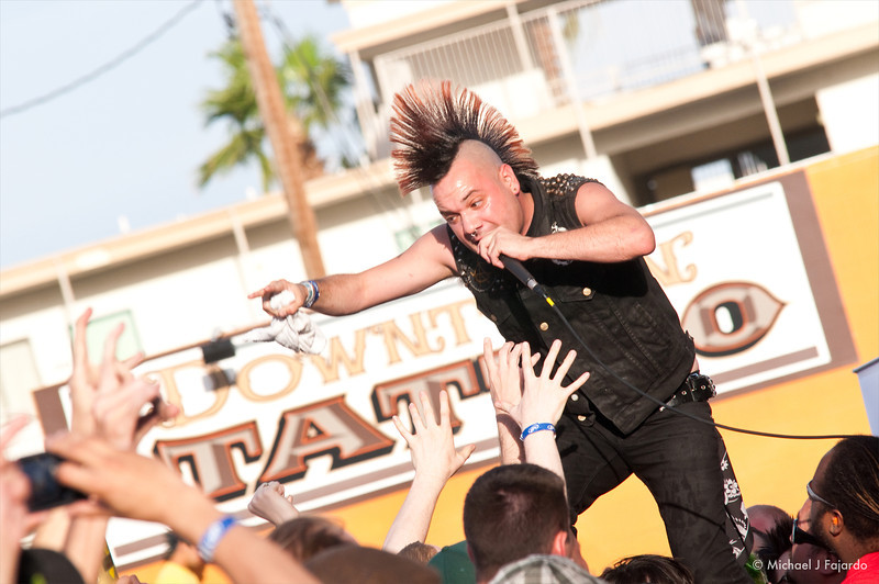 David Tejas and the Crowd Krum Bums BYO Records' 13th Annual Punk Rock Bowling Music Festival Las Vegas, NV  May 29, 2011
