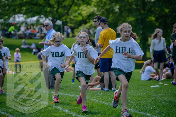 Green and White Track Meet